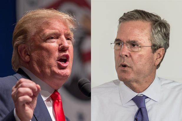 Trump has emerged as Jeb Bush's main competitor in the 2016 Republican Primary