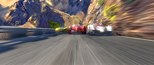 "A race scene from Warner Bros. Pictures' and Village Roadshow Pictures' action adventure ""Speed Racer,"" distributed by Warner Bros. Pictures.  PHOTOGRAPHS TO BE USED SOLELY FOR ADVERTISING, PROMOTION, PUBLICITY OR REVIEWS OF THIS SPECIFIC MOTION PICTURE AND TO REMAIN THE PROPERTY OF THE STUDIO. NOT FOR SALE OR REDISTRIBUTION."