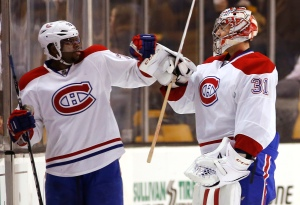 P.K. Subban, Carey Price