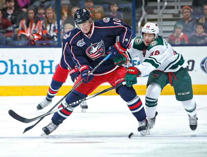 Blue Jackets and Wild, both added to the NHL in 2000